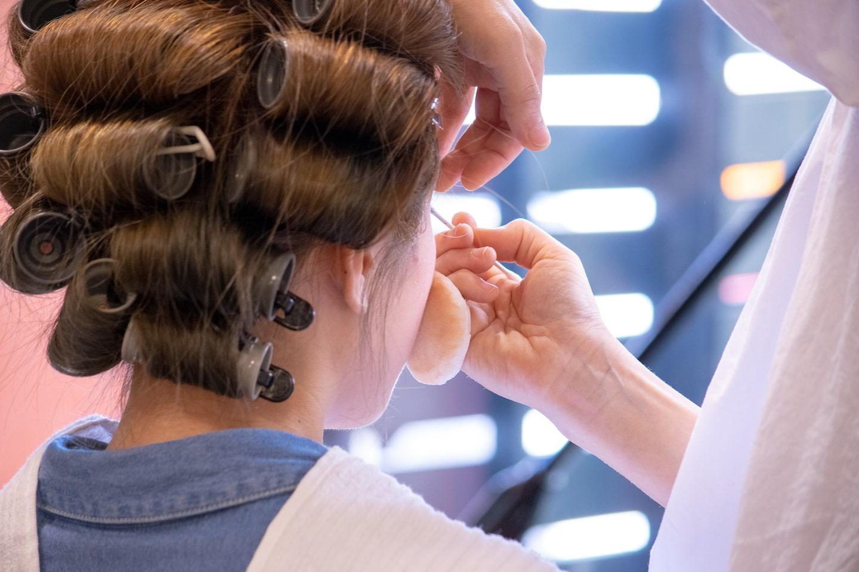 成人式当日のヘアメイク