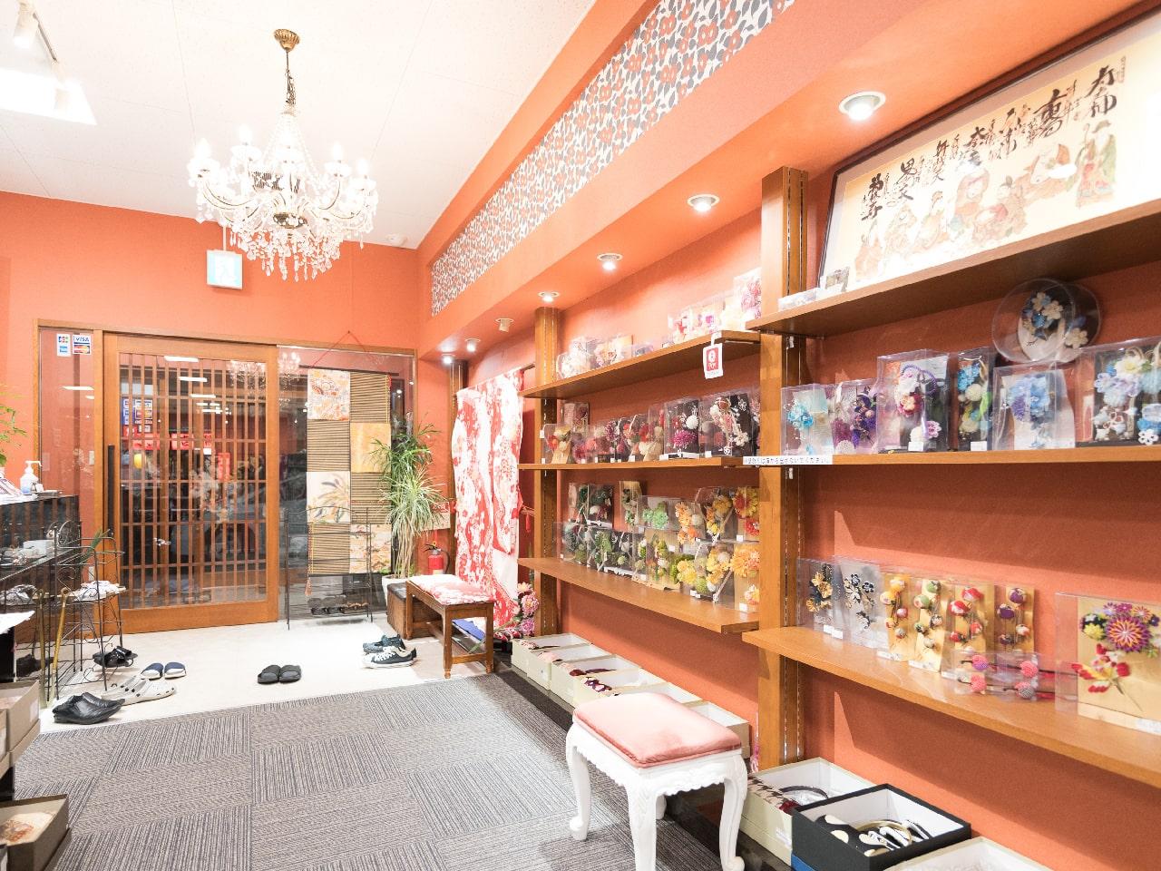福山エリア「優美苑きものにじいろ(当店)」の店舗画像2